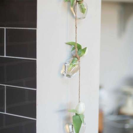 Glass Hanging Bottles