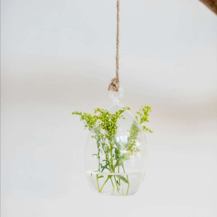 Glass Hanging Oval from Accessories for the Home