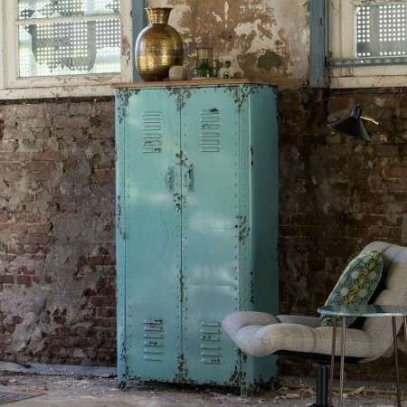 Dutchbone Rusty Cabinet with a Distressed Iron Finish
