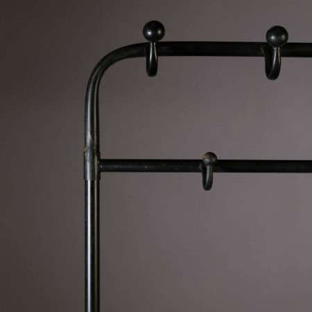 Dutchbone Lucius Iron Coat Rack with Shelf from Accessories for the Home