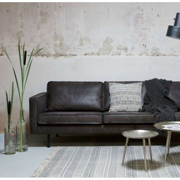 BePureHome Rodeo Leather 3 Seat Sofa from Accessories for the Home