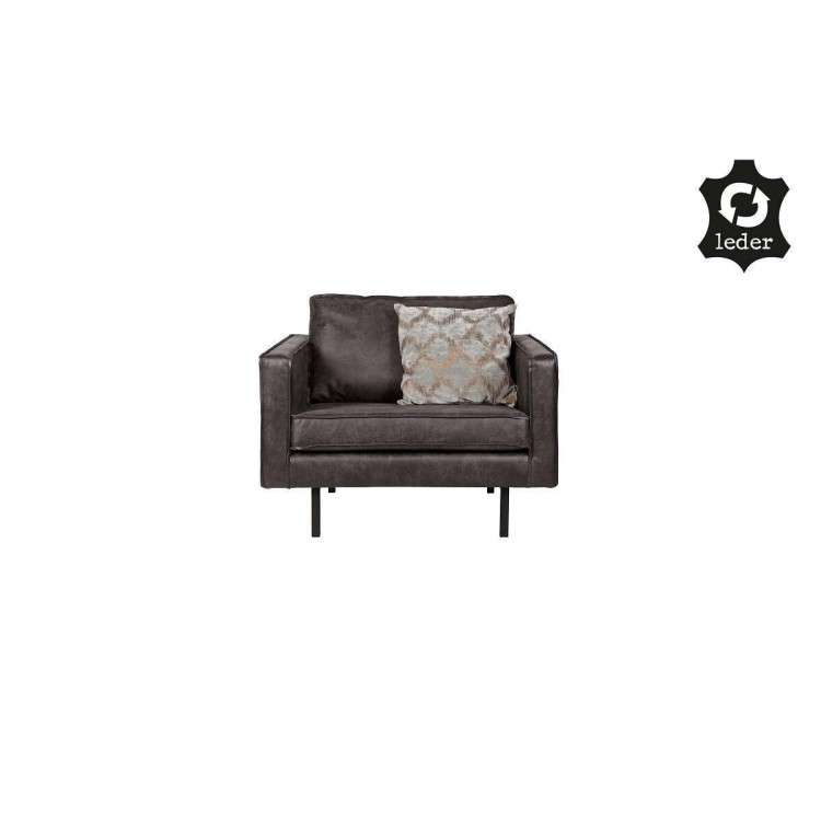 BePureHome Rodeo Leather Armchair from Accessories for the Home