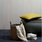 BePureHome Rodeo Leather Pouf from Accessories for the Home