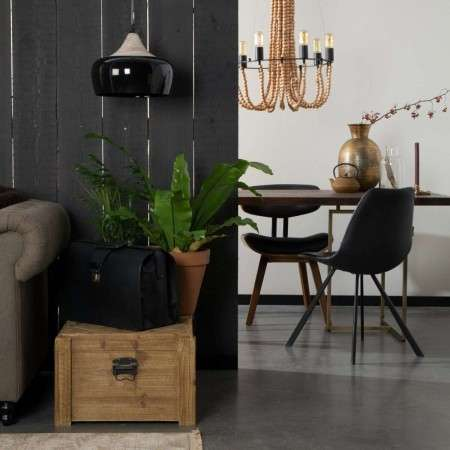 Dutchbone Franky PU Leather Dining Chair from Accessories for the Home