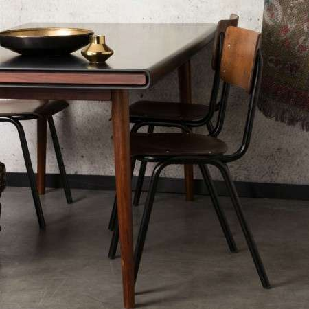 Dutchbone Scuola Retro Old School Style Dining Chair