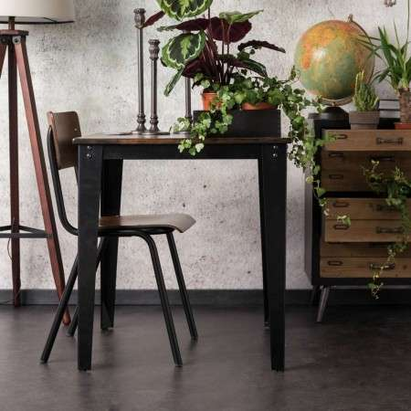 Dutchbone Scuola Dining Tables with in a Dark Walnut Finish