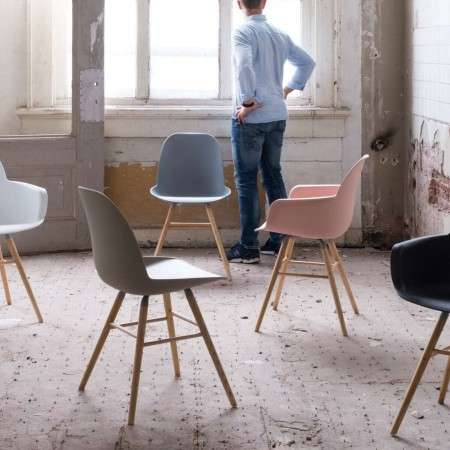 Albert Kuip Polypropylene Chair in Various Colours