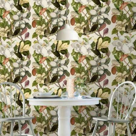 MIND THE GAP Magnolia Taupe Wallpaper