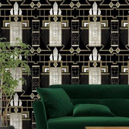 Glamour Dark Wallpaper from Accessories for the Home