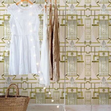 Glamour Rose Wallpaper from Accessories for the Home