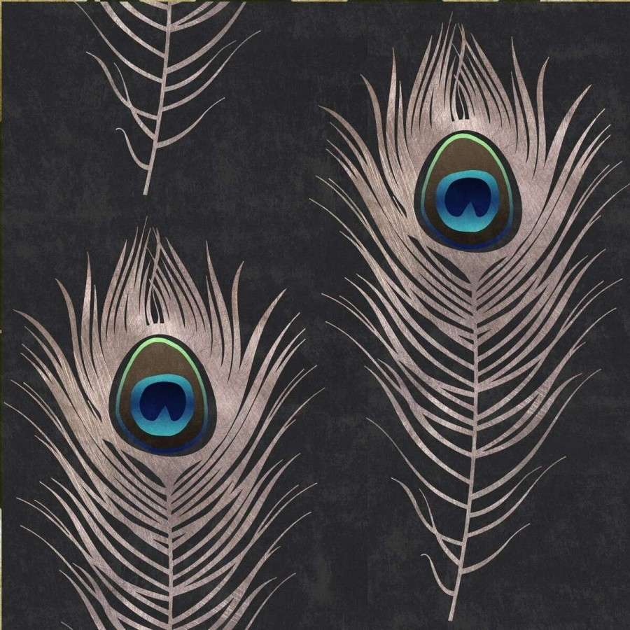 Peacock Feather Wallpaper From Accessories For The Home