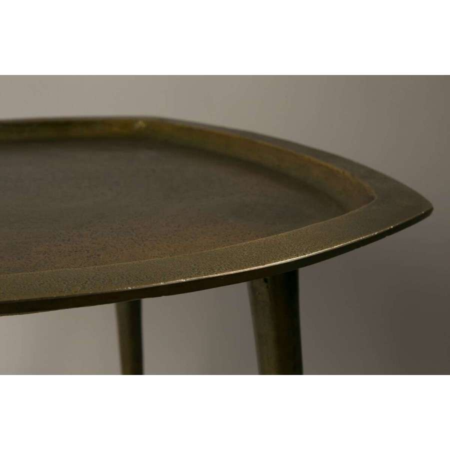 Dutchbone Abbas Moroccan Style Brass Side Table Acc For