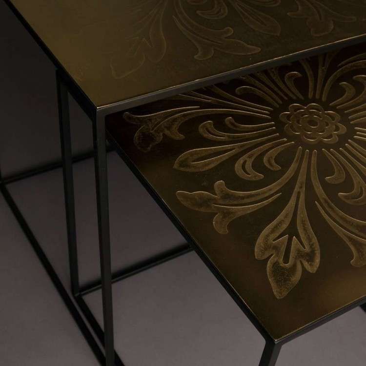 Dutchbone Saffra Nesting Side Tables from Accessories for the Home