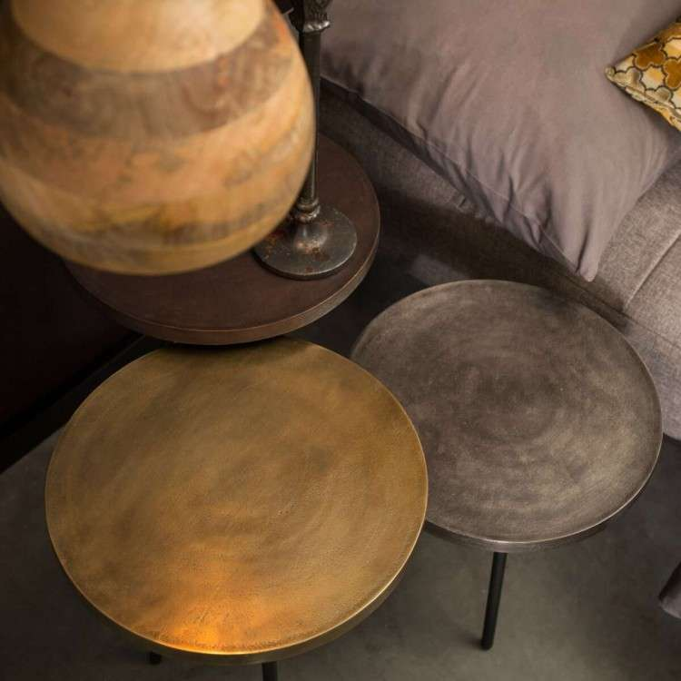 Dutchbone Alim Side Tables (3) from Accessories for the Home