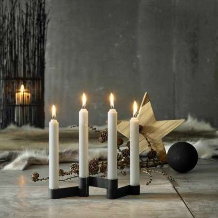 Muubs 3 Bar Iron Candle Holder