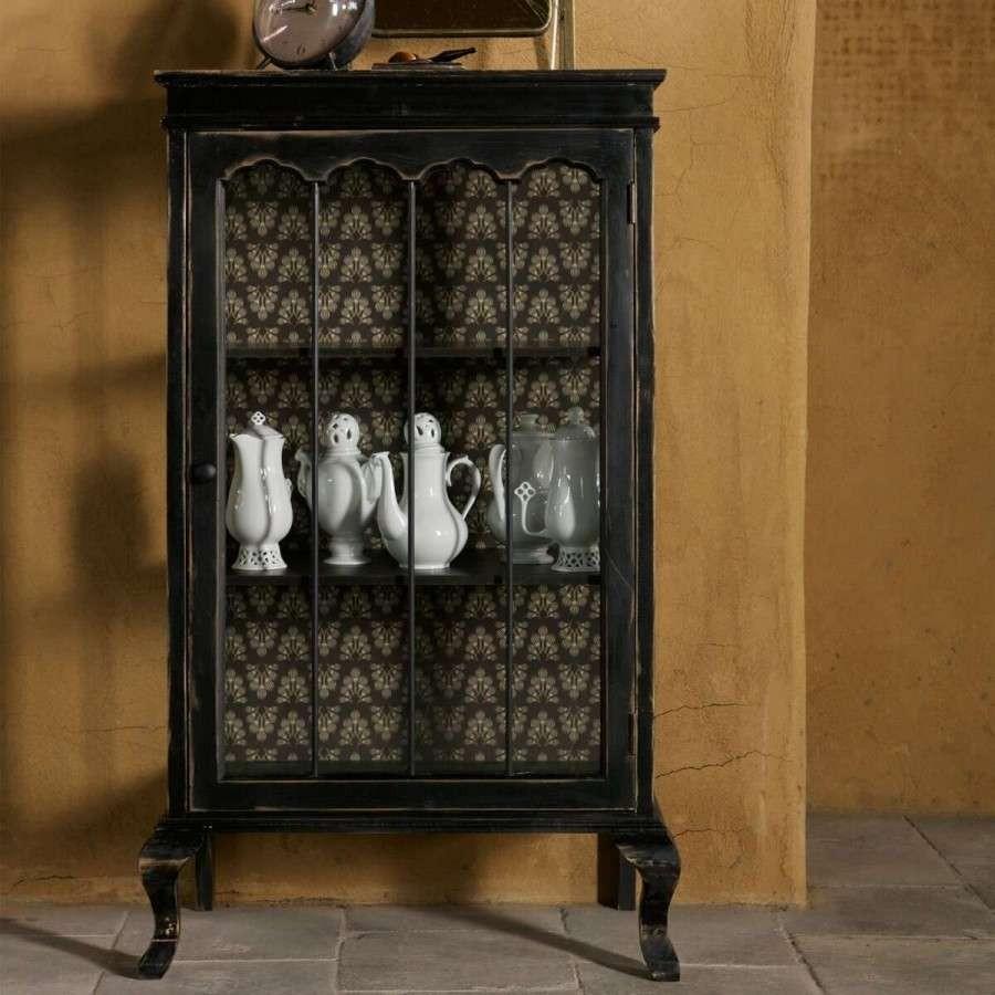 Bepurehome Odd Vintage Style Wood Display Cabinet Acc