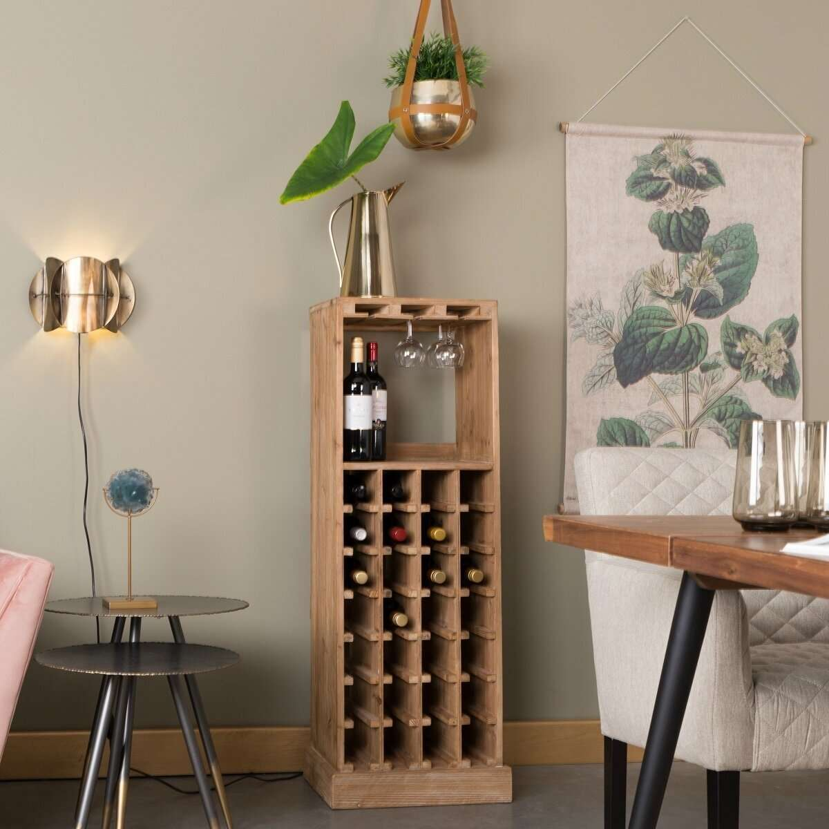 Picture of: Dutchbone Claude Wine Glass Cabinet Accessories For The Home