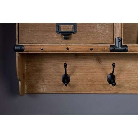 Dutchbone Amador Wall Hanging Coat Rack from Accessories for the Home