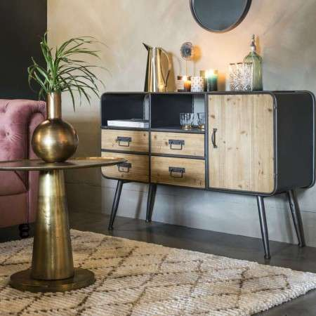 Dutchbone Gin Industrial Style Sideboards