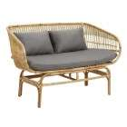 Nordal Ralph Rattan Seating Set from Accessories for the Home