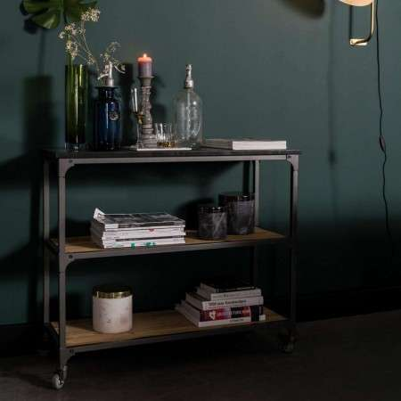 Dutchbone Consuela Metal and Wood Shelf