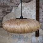 Dutchbone Bond Ash Veneer Pendant Lamp from Accessories for the Home