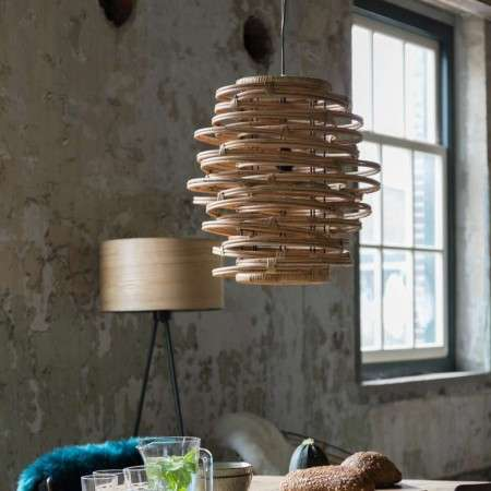 Dutchbone Kubu Rattan Pendant Light