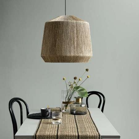 Nordal Natural Jute Lampshade