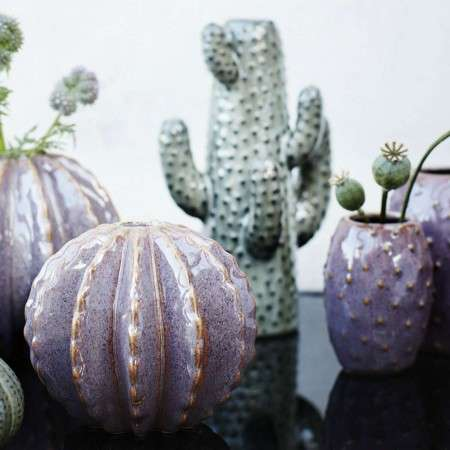 Madam Stoltz Ceramic Cactus Vase from Accessories for the Home