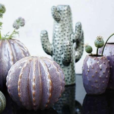 Madam Stoltz Ceramic Cactus Vase