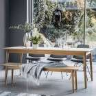 Malmo Oak Extendable Dining Table from Accessories for the Home