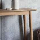 Malmo Solid Oak Console Table from Accessories for the Home
