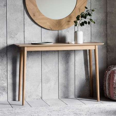 Malmo Solid Oak Console Table