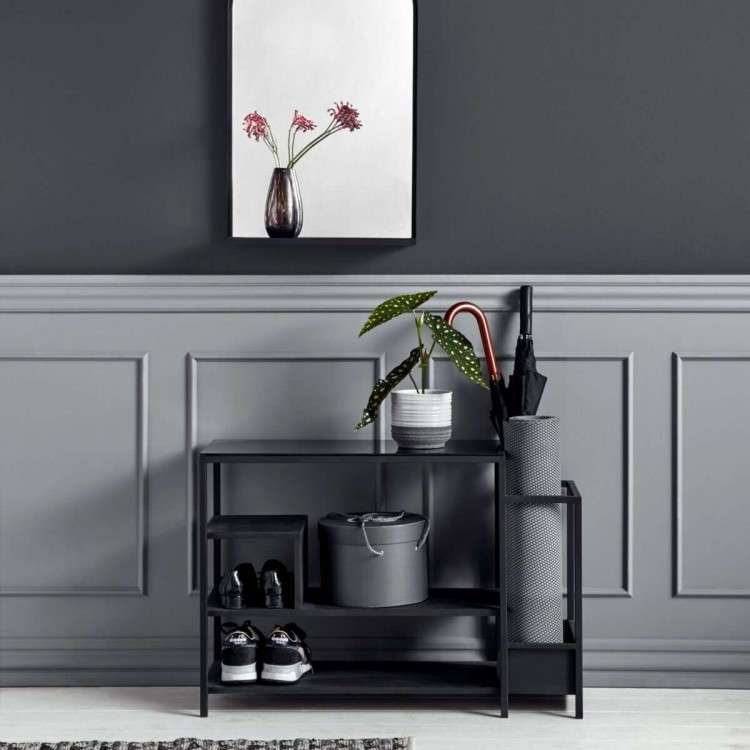 Metal Hall Shelf from Accessories for the Home