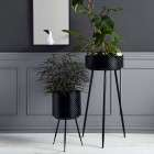 Indian Metal Planters from Accessories for the Home