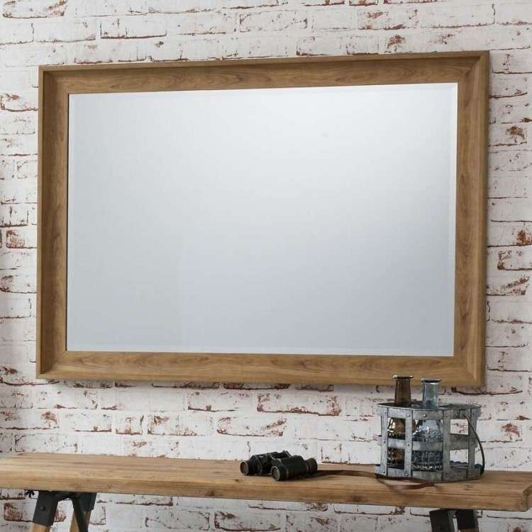 Filton Rectangular Wall Mirror from Accessories for the Home