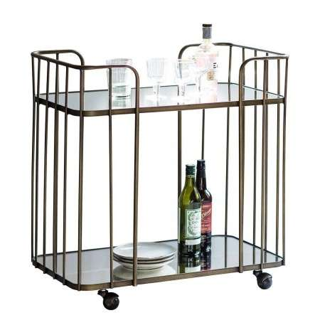 Verena Art Deco Drinks Trolley from Accessories for the Home