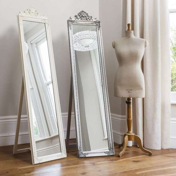 Lynton Wood Cheval Mirror from Accessories for the Home