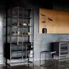 Muubs Boston Iron and Glass Display Cabinet from Accessories for the Home