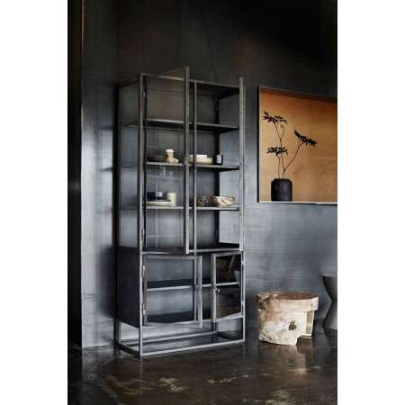 Muubs Boston High Iron and Glass Display Cabinet  from Accessories for the Home