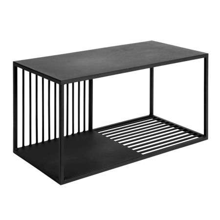 Muubs Large Denver Black Iron Shelf Unit