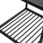 Muubs Small Denver Black Iron Shelf Unit from Accessories for the Home