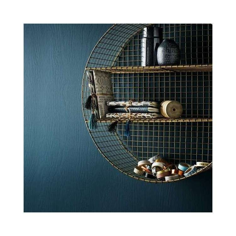 Circular Gold Mesh Shelf from Accessories for the Home