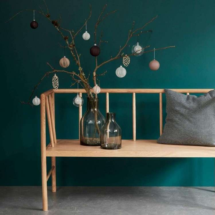 Hubsch Oak Bench Seating from Accessories for the Home