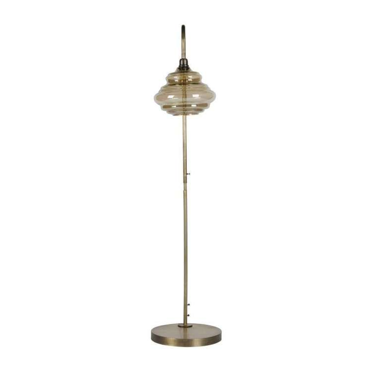 BePureHome Obvious Antique Brass Floor Lamp from Accessories for the Home