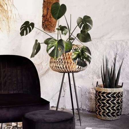 Madam Stoltz Natural Bamboo Plant Stand from Accessories for the Home