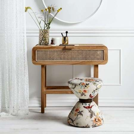 Nordal Open Mesh Teak Wood Console from Accessories for the Home