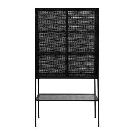 Nordal Black Metal & Mesh Cabinet from Accessories for the Home