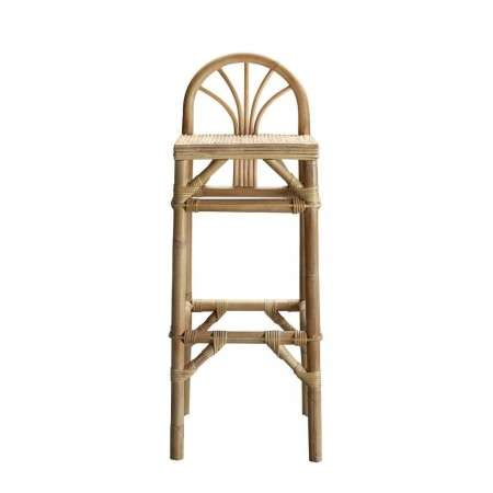 Tinekhome Natural Rattan Bar Stool from Accessories for the Home
