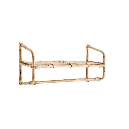 Madam Stoltz Bamboo Hanging Wall Shelf from Accessories for the Home